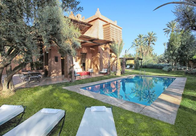 Villa en Marrakech Palmeraie - LANKAH