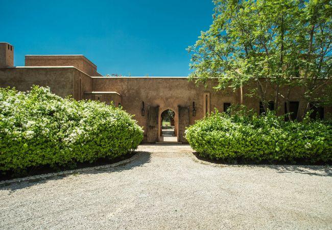 Villa en Marrakech Palmeraie - Villa ALOUNA - Palmeraie de Marrakech