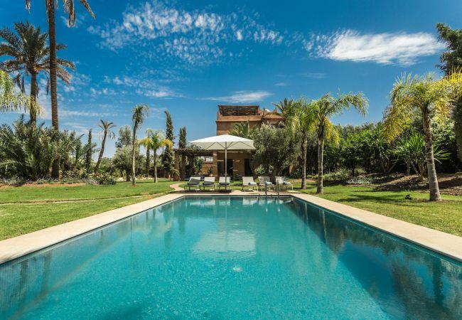 Villa en Marrakech Palmeraie - Villa YENMOZ - Palmeraie Marrakech