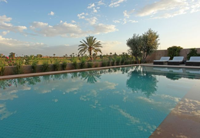 Villa à Marrakech Alentours - Villa MALEKIS sur le Golf