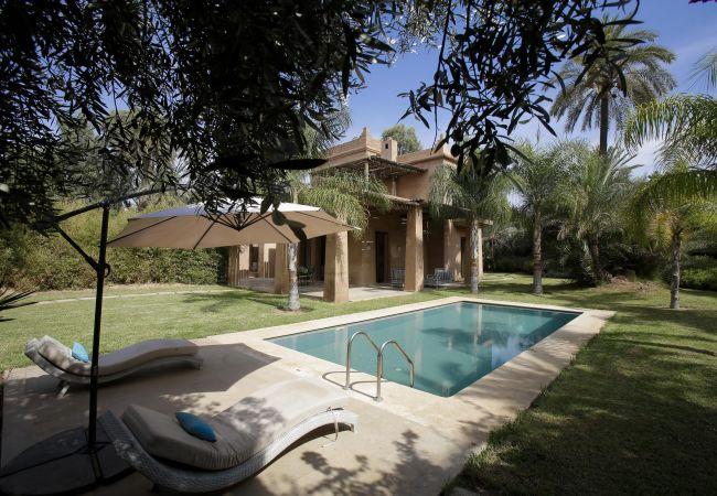 Villa à Marrakech Palmeraie - Villa SBESSE Palmeraie