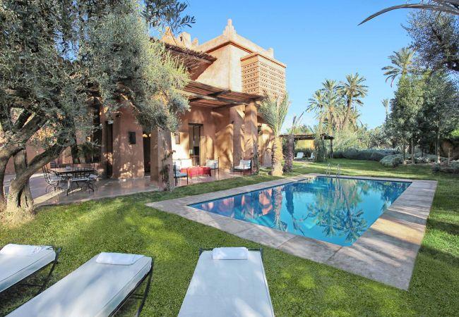 Villa in Marrakech Palmeraie - LANKAH